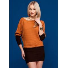 JAPON STYLE ORANGE_BROWN TUN�K S/M