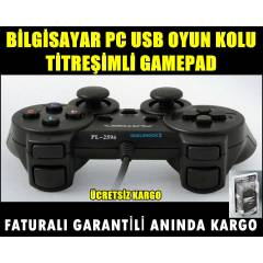 B�LG�SAYAR PC OYUN KOLU T�TRE��ML� USB GAMEPAD