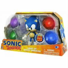 Sonic with Light Up Emerald 13 cm fig�r oyuncak
