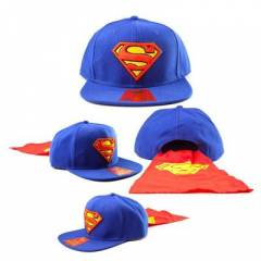 Superman Pelerinli Snap back Kep �apka