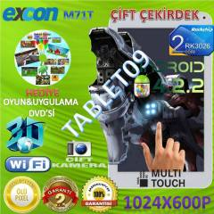 Excon 7'' Tablet Pc 8GB�ift �ekirdek �ift Kamera