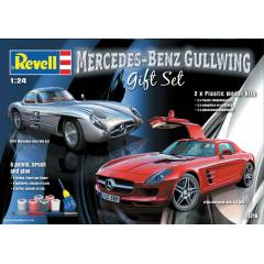 REVELL 05716 MERCEDES GULLWING HED�YE SET�