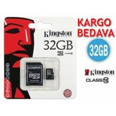 K�NGSTON 32GB CLASS 10 M�CRO SDHC+SD ADAPT�R�