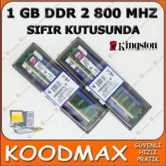 S�f�r Kingston 1 GB DDR2 RAM - 800 MHZ