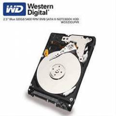WD 2.5 Blue 320GB 5400 RPM 8MB SATA3 NOTEBOOK HD