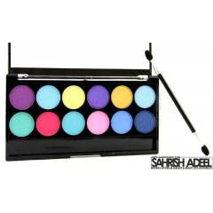 MUA MAKE UP 12 Color Palette by POPTAST�C :)