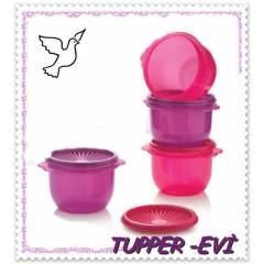 TUPPERWARE TEK PARMAK 700ML*4 L� SET