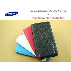 Samsung Galaxy Note 3 Flex Flip Cover K�l�f