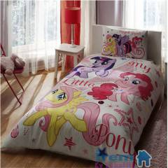Ta� My Little Pony Lisansl� Nevresim Tak�m�