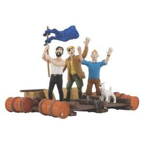 TINTIN Red Sea Sharks Album Cover Figure