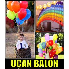 U�AN BALON DO�UM G�N� PART� RENKL� BALONLAR