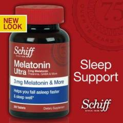 Schiff MELATON�N 300 TABLET 3 MG S�n�rl� Say�da