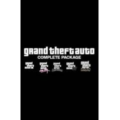 GRAND THEFT AUTO GTA COMPLETE PACK PC STEAM KEY