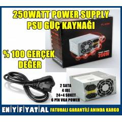 250 WATT Power Supply PSU G�� Kayna�� 250W