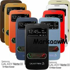 SAMSUNG GALAXY NOTE 3 KILIF FLIP COVER PENCEREL�