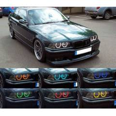 BMW E36 Multi Color Angel Eyes 16 RENK KUMANDALI