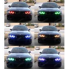 BMW E46 Multi Color Angel Eyes 16 RENK KUMANDALI