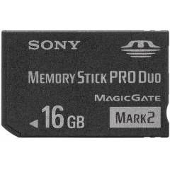 SONY MEMORY ST�CK PRO DUO 16 GB T�M PSP LER ���N