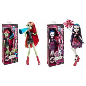 monster high spectra vonder ven�s McFlytrap set