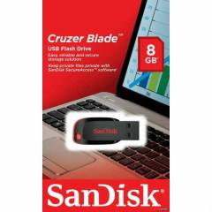 Sandisk Cruzer Blade 8 GB USB Flash Bellek 8GB