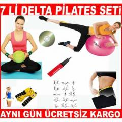 7 Li DELTA P�LATES SET� PLATES SET TOP BANT