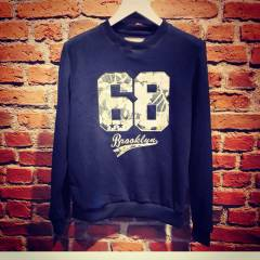 NBA 68 BROOKLYN D�J�TAL BASKI SWEATSH�RT obey