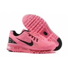 NIKE AIR MAX+2013 Pink-Blk Wmns Running Shoes
