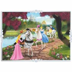 KS 50 Par�a �ocuk Puzzle Disney Princess