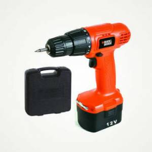 BLACK&DECKER  AK�L� V�DALAMA CD121K 12 V
