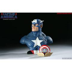 Sideshow Captain America Legandary Scale Bust Ex