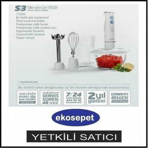 HOMEND 1908 BLENDERSET 750 W BLENDER MUTFAK SET�