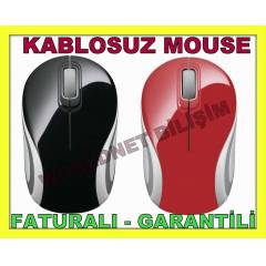 KABLOSUZ MOUSE WIRELESS NANO ALICI VERSAT�LE