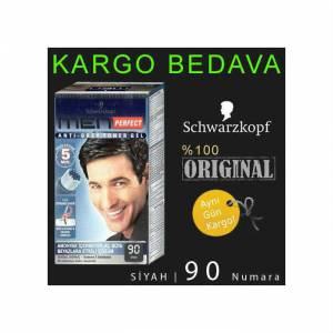 SCHWARZKOPF MEN PERFECT 90 S�YAH JEL BOYA
