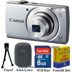 CANON A2550 16 MP HD Dijital Foto�raf Makinas�