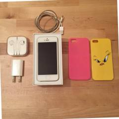 Apple iPhone 5 16 GB Beyaz 2.EL (2k�l�f hediye)