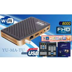 YUMATU IP SMART BOX FULL HD UYDU ALICISI,+SERVER