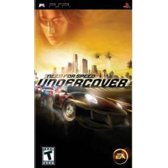 PSP ORJINAL OYUN -  NEED FOR SPEED  UNDERCOVER