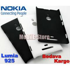 Nokia Lumia 925 Slim Rubber K�l�f+3xSticker