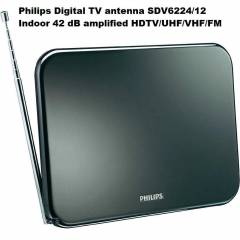 Philips SDV6224-12 42dB Amplified TV Anteni