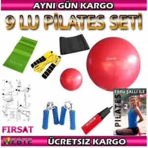 P�LATES SET� 9 LU EBRU �ALLI DVD 2 KEMER �P YAY