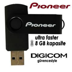 P�oneer 8 GB USB  Flash Bellek Flash Disk