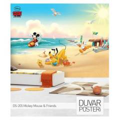 MICKEY MOUSE & FRIENDS DUVAR POSTER  178x126 cm