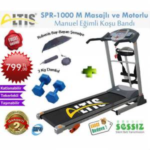 Altis Spr 1000-M 2.5 Hp Masajl� Ko�u Band�