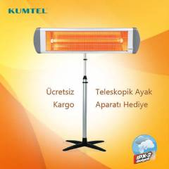 Kumtel EX-23 Ecoray �nfrared Is�t�c�+Ayak 2300 W