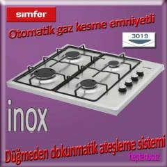 Simfer 3019  �NOX do�algaz Set �st� modern  Ocak