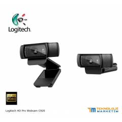 Logitech C920 Full HD Webcam Carl Zeiss� Mercek