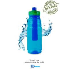 COOLGEAR 650 ML KOKUSUZ SO�UK TUTUCU MATARA