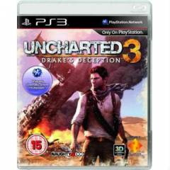 PS3 UNCHARTED 3 playstation 3 oyun