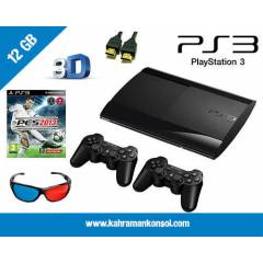 PS 3 12GB SUPER SLIM + 2.KOL + PES 13 + HDMI
