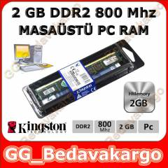 Kingston 2 GB DDR2 RAM - 800 MHZ - SIFIR